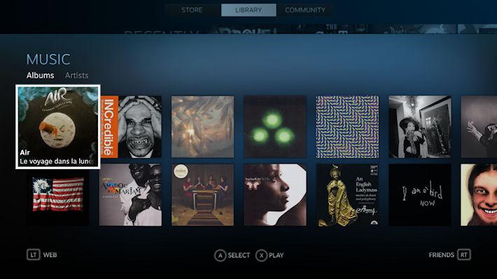 Теперь в Steam можно слушать музыку
