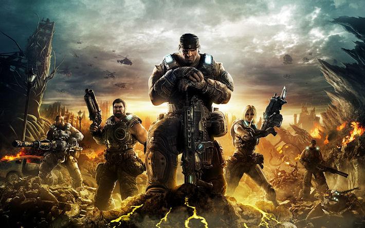 НовоеприобретениеMicrosoft — Gears of War