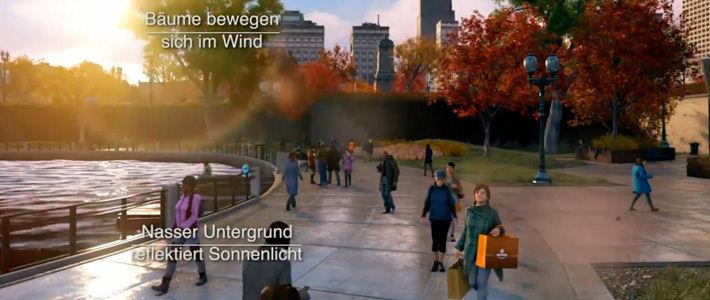 Ubisoft поделилась роликом с погодными эффектами в Watch Dogs для PC