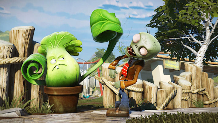 Бесплатное дополнение для «Plants vs. Zombies: Garden Warfare»