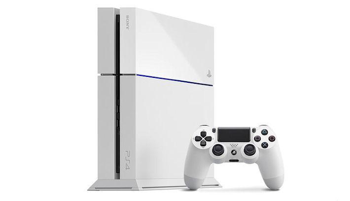 Хорошая новость для любителей белой PlayStation 4
