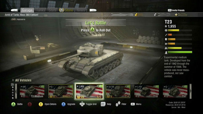 Грандиозное обновление «World of Tanks: Xbox 360 Edition»