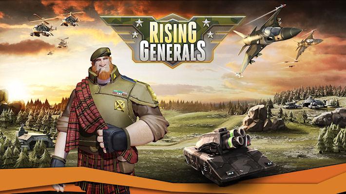Игра «Rising Generals» готова радовать своих поклонников
