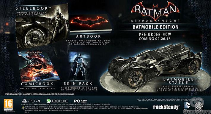 Премьера «Batman: Arkham Knight» состоится в 2015 году