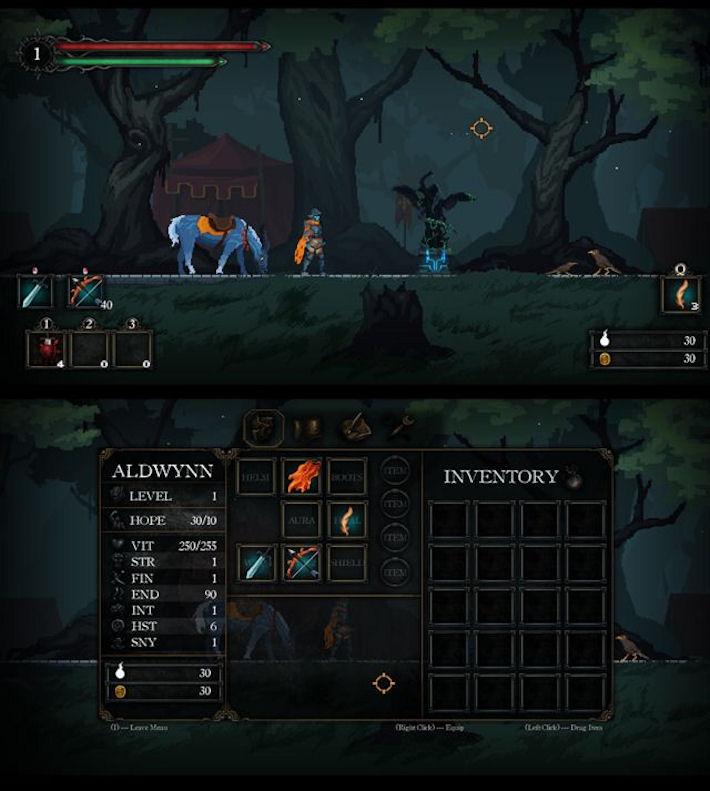 Анонс двухмерной ролевой игры Death's Gambit