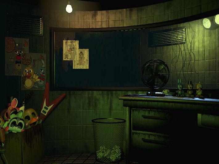 Анонс Five Nights at Freddy's 3