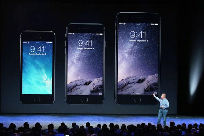 Apple корректирует пропорцию поставок iPhone 6 и 6 Plus