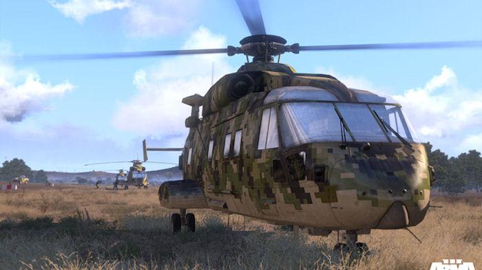 Навыки управления вертолетом в ArmA 3