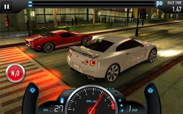 CSR Racing — уличные гонки на андроид