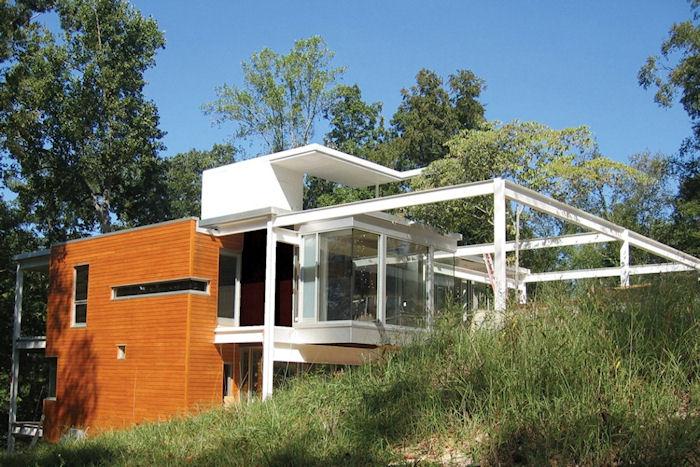 Деревянные и стальные каркасные дома