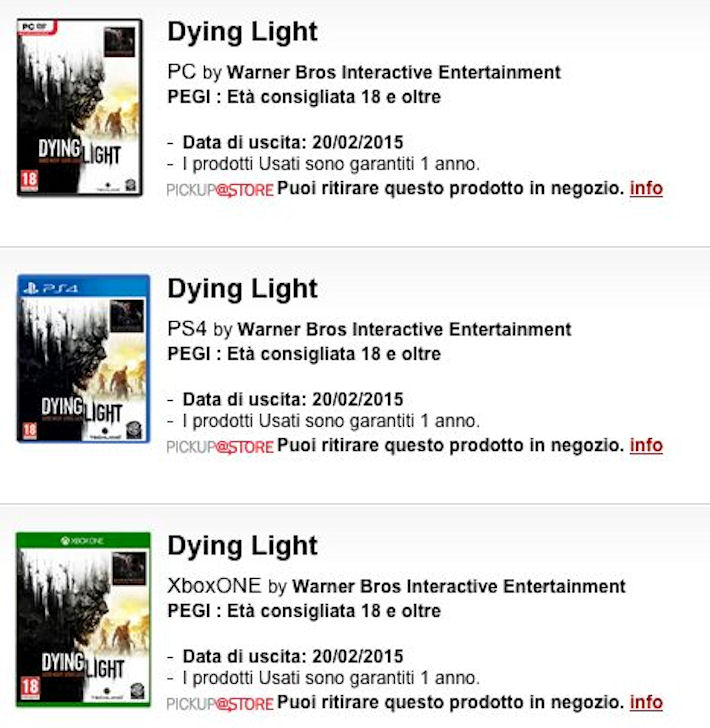 Диски с Dying Light попадут в руки геймеров позже намеченного срока