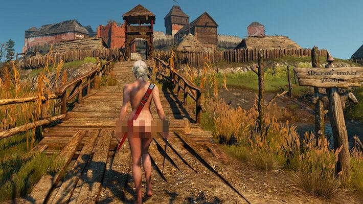Для The Witcher 3 создали мод с обнажёнными персонажами