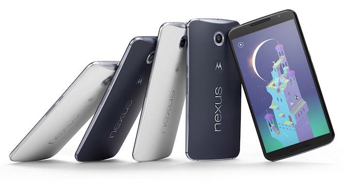 Пользователь Твиттер «обнажил» Google Nexus 6