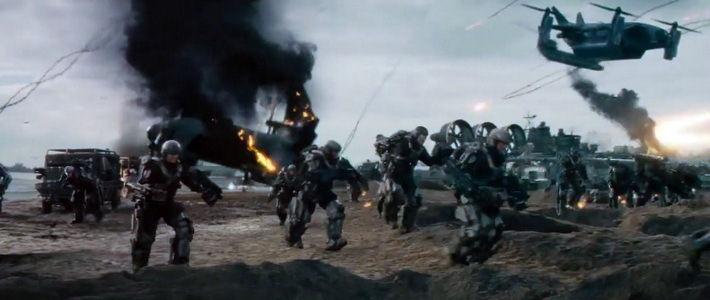 «Грань будущего» — новый фантастический фильм о нашествии пришельцев