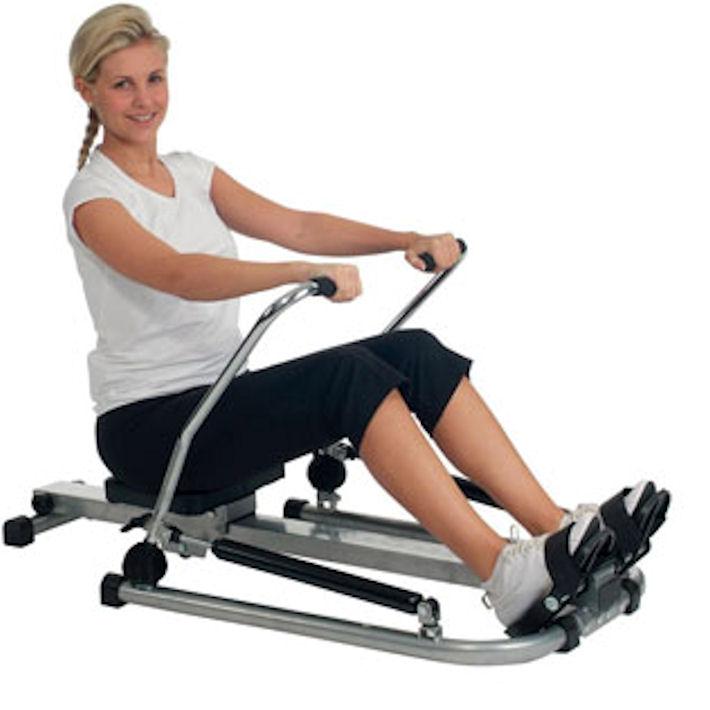 Гребной тренажер поможет накачать мышцы