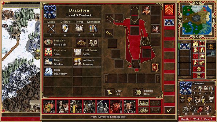 Состоялся анонс Heroes of Might and Magic 3 HD