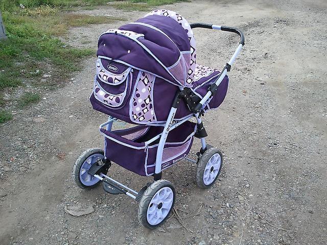Комфортная коляска для родителей и ребенка