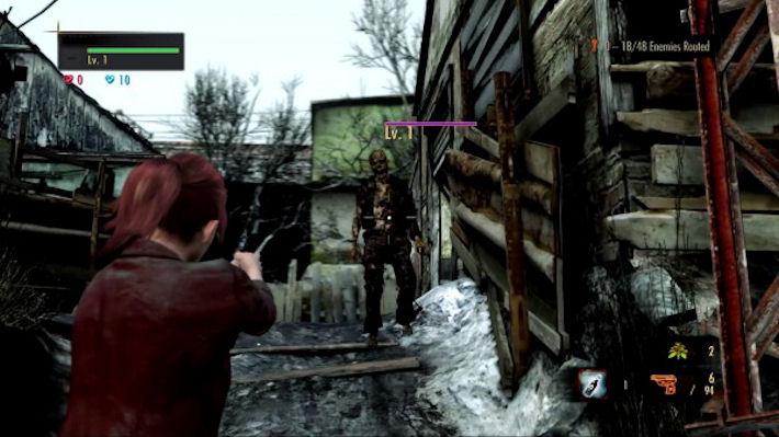 Кооперативный онлайн-режим в Resident Evil: Revelations 2