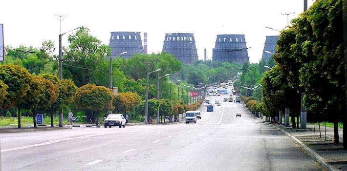 Кривой Рог - самый длинный город Украины