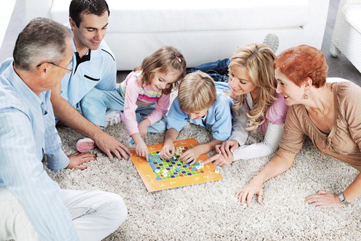 Настольные игры для детей. Обучение во время развлечения
