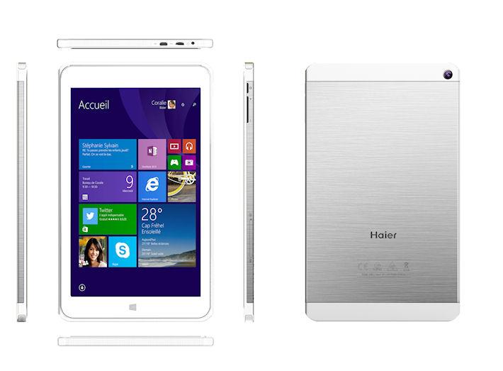 Новый Android-планшет HaierPad 971 экран 9,7 «и чипсет от Intel