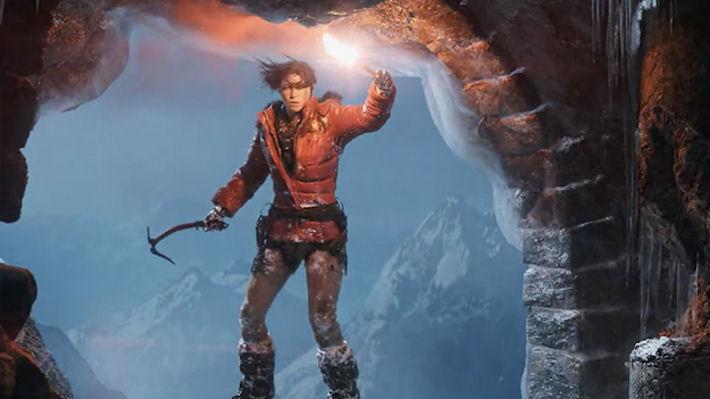 Новый трейлер геймплея игры Rise of the Tomb Raider