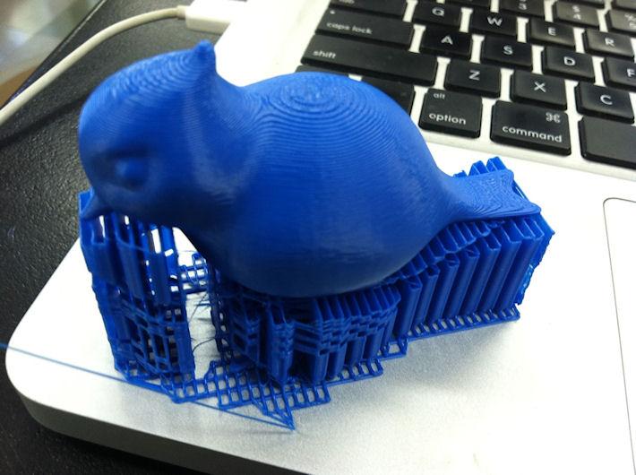 3D печать. Печать материи из файла