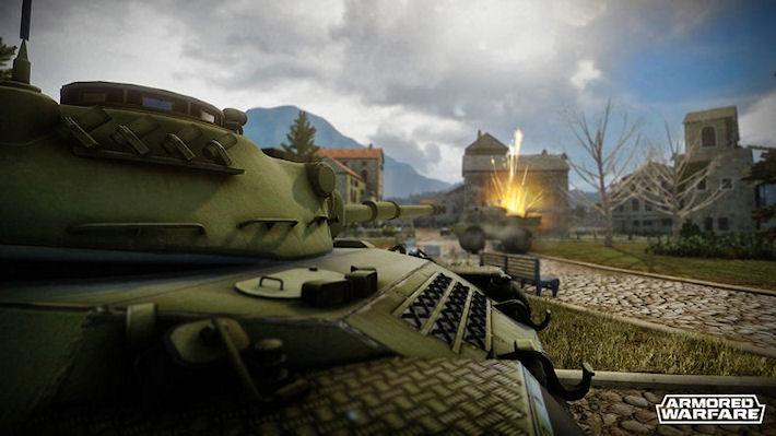 Первое крупное обновление для Armored Warfare
