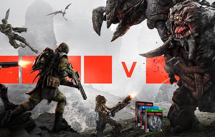 Прибавление в Evolve — новый монстр и охотники