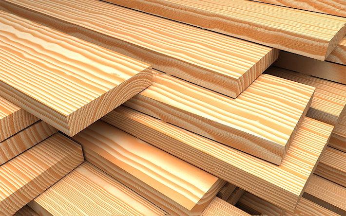 Продукция из лиственницы в строительстве