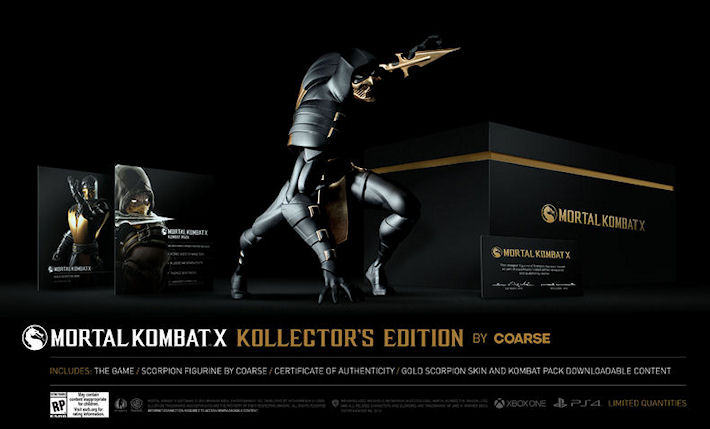 Раскрыты подробности коллекционных изданий Mortal Kombat 10