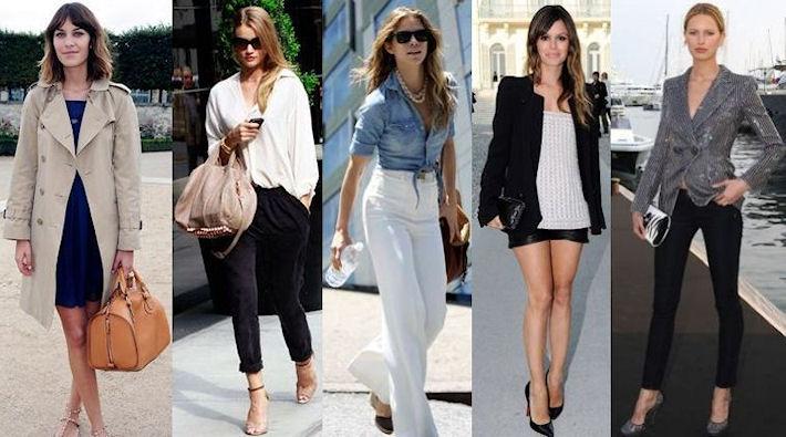 Разновидности стиля casual