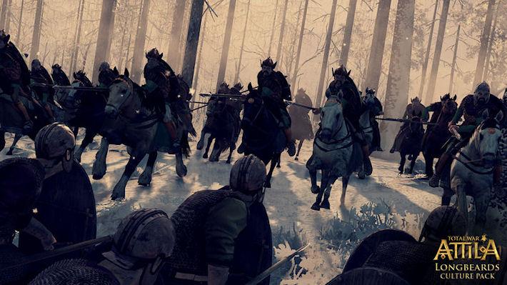 Релиз дополнения для Total War: ATTILA