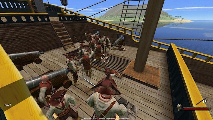 Релиз пиратского экшена «Огнём и мечом 2: На Карибы!»
