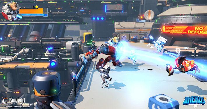 Rimlight Studios анонсировала дебютную игру ZHEROS