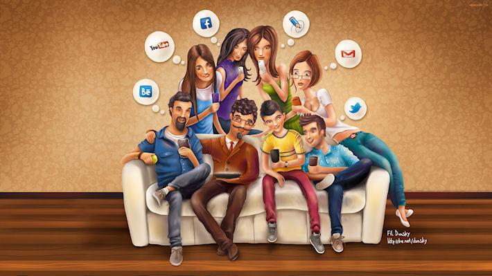Социальные сети и молодежь