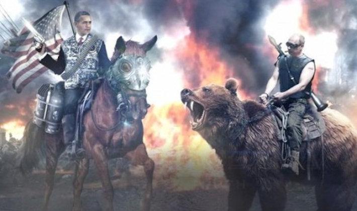 Создана игра, в которой Обама и Путин объединились против зомби Ленина