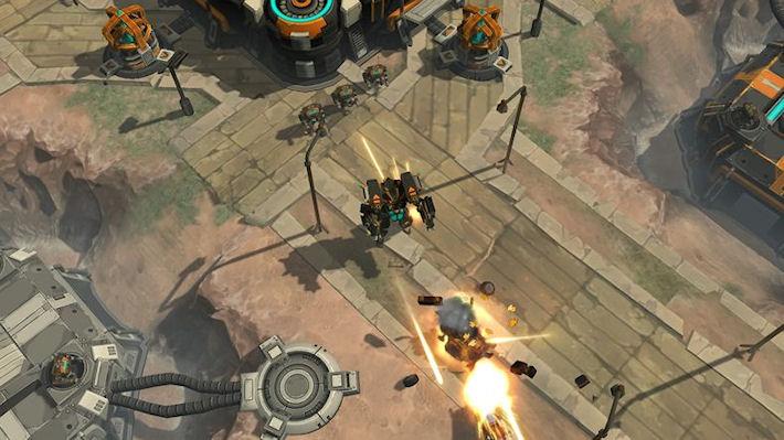Стратегия AirMech Arena выйдет на PS4 и Xbox One