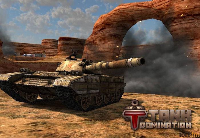 Tank Domination – бесплатный танковый симулятор без рекламы