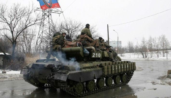 Террористы заняли Красный Партизан, — Тымчук