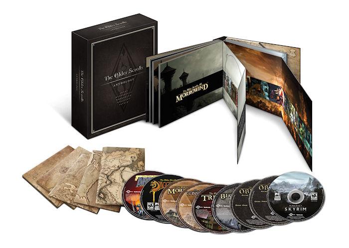 The Elder Scrolls Anthology появится в сентябре 2013 года