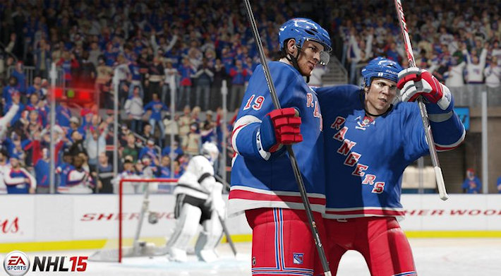 В The Vault стала доступна игра NHL 15