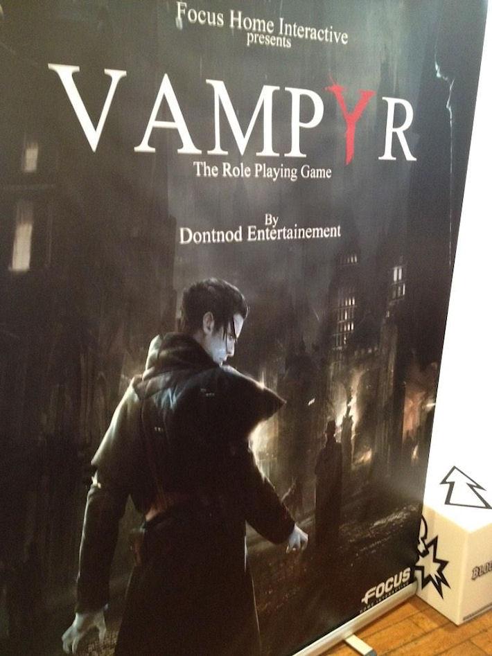 Vampyr — ролевая игра о вампирах от Dontnod Entertainment