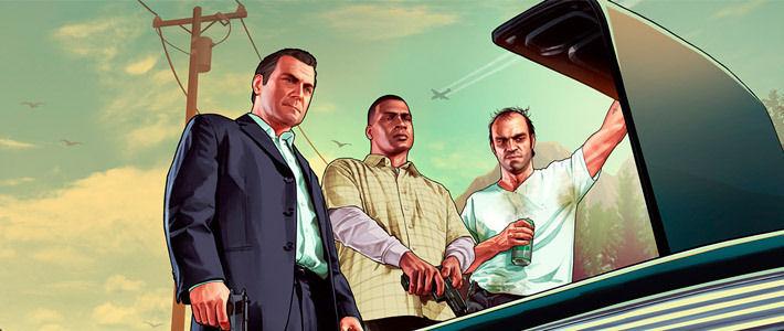 Grand Theft Auto V названа игрой года на VGX 2013