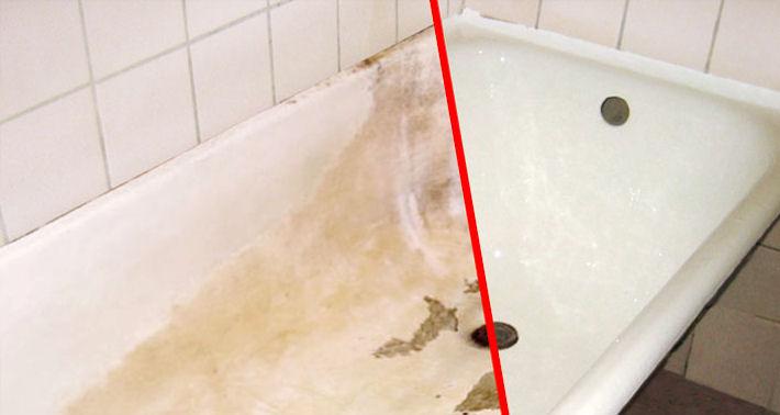 Восстановление старой ванны. Превращение ее в новую.