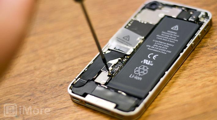 Замена батареи в IPhone 4S своими руками