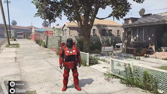В GTA V можно примерить образ Железного человека