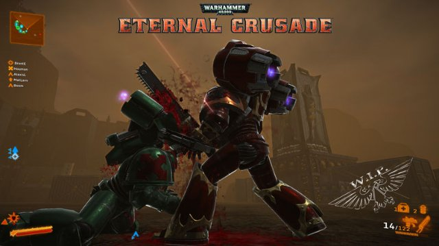 Разработка Warhammer 40,000: Eternal Crusade происходит на базе UE4
