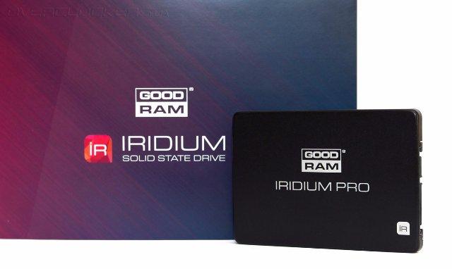 GOODRAM анонсировала SSD-драйвы Iridium