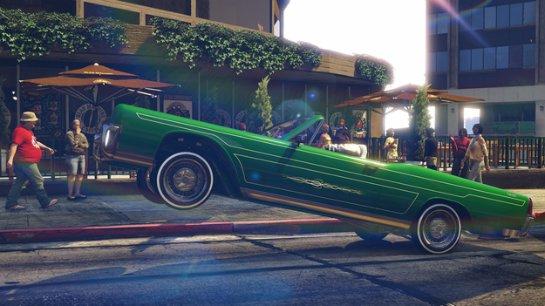 Rockstar добавит в GTA V заниженные автомобили